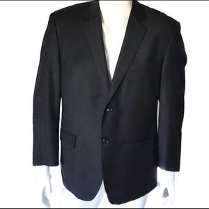 Calvin Klein 2-Button Wool Blazer Mens 44S.